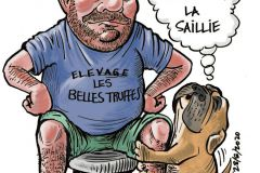 Les Belles Truffes - Carricature Sergio Vallejo