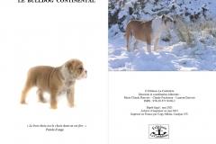 Les Belles Truffes - Bulldog Continental - Livre édition 2021