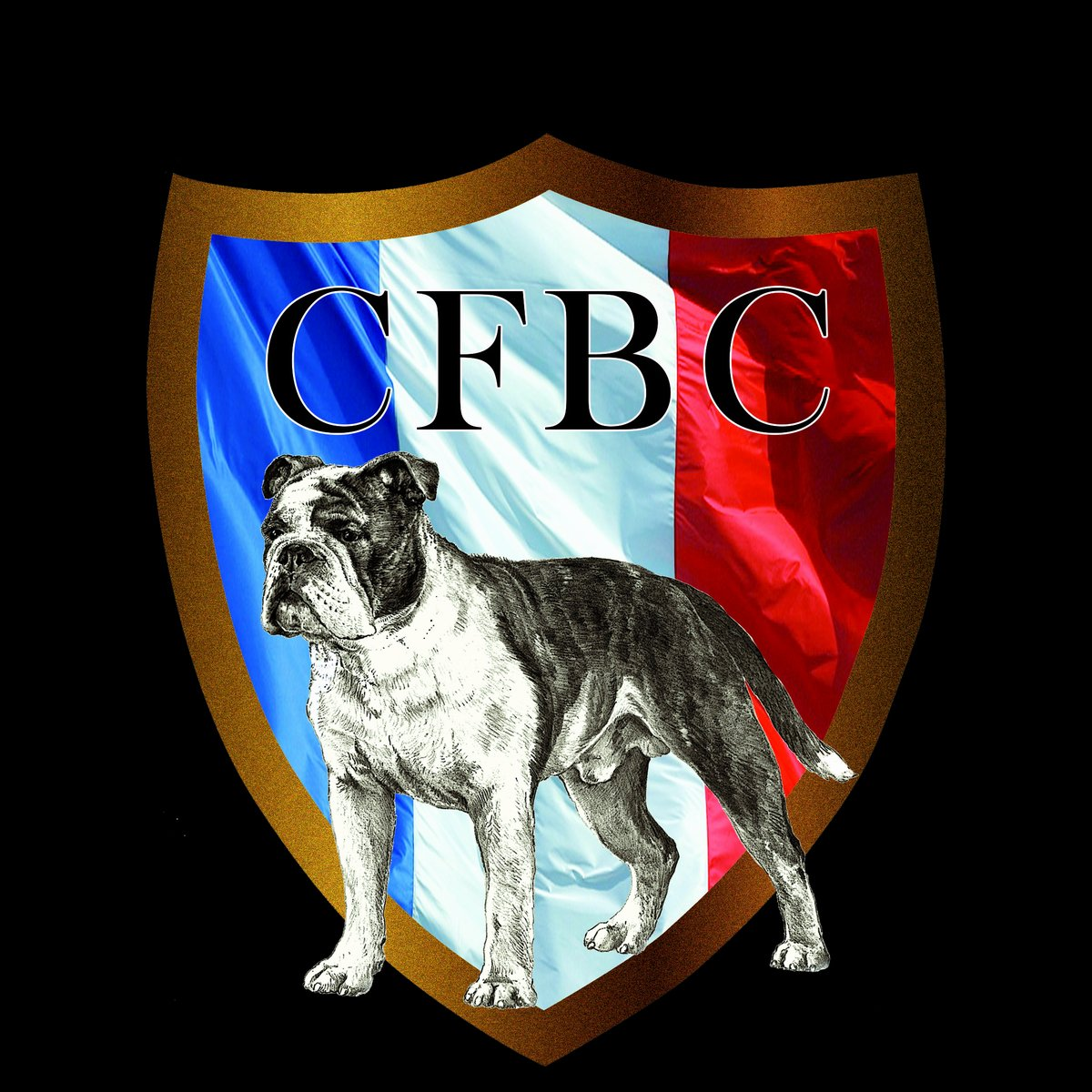 Les Belles Truffres - CFBC - Club Français du Bulldog Continental - Logo